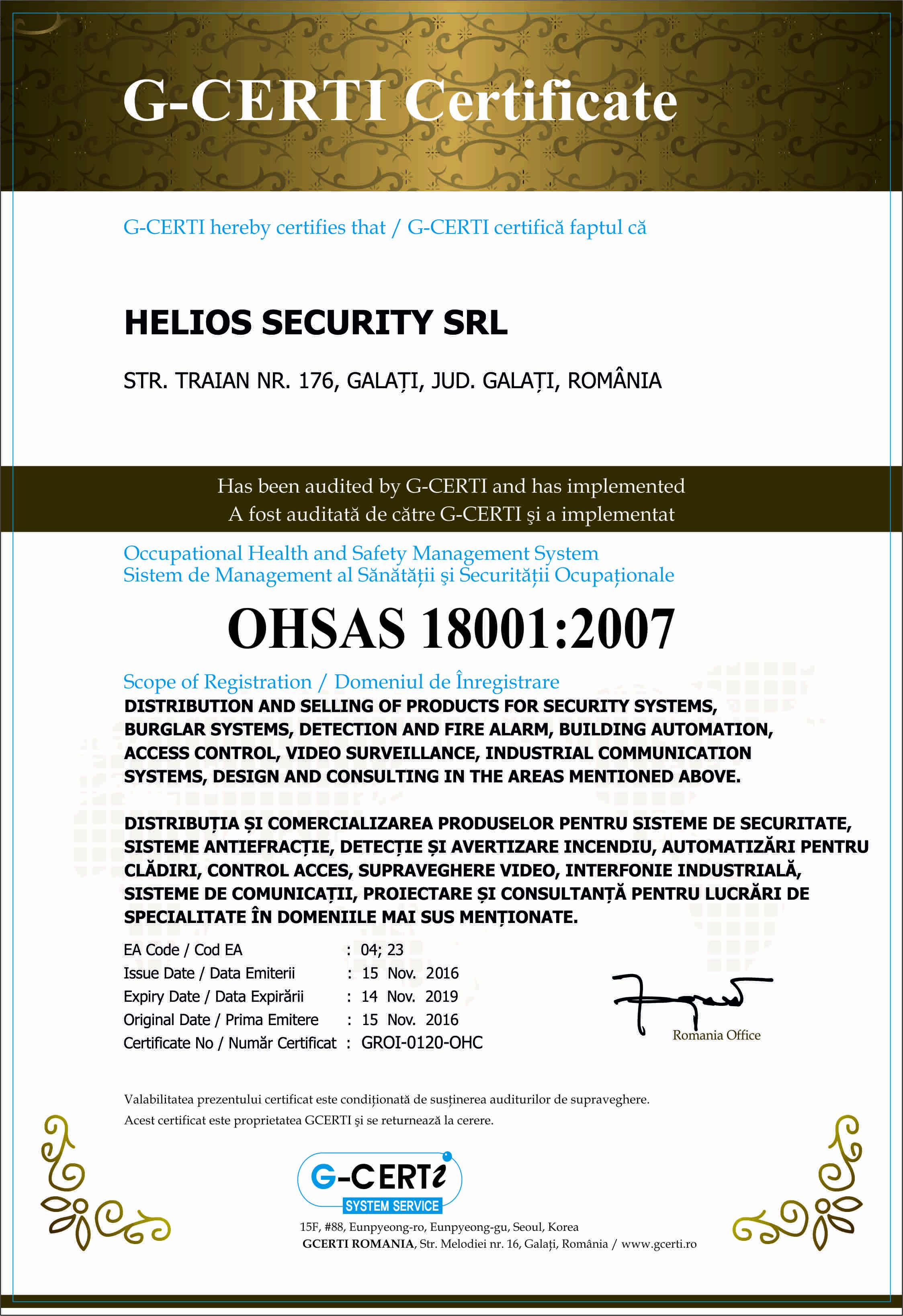 ISO8001 HS
