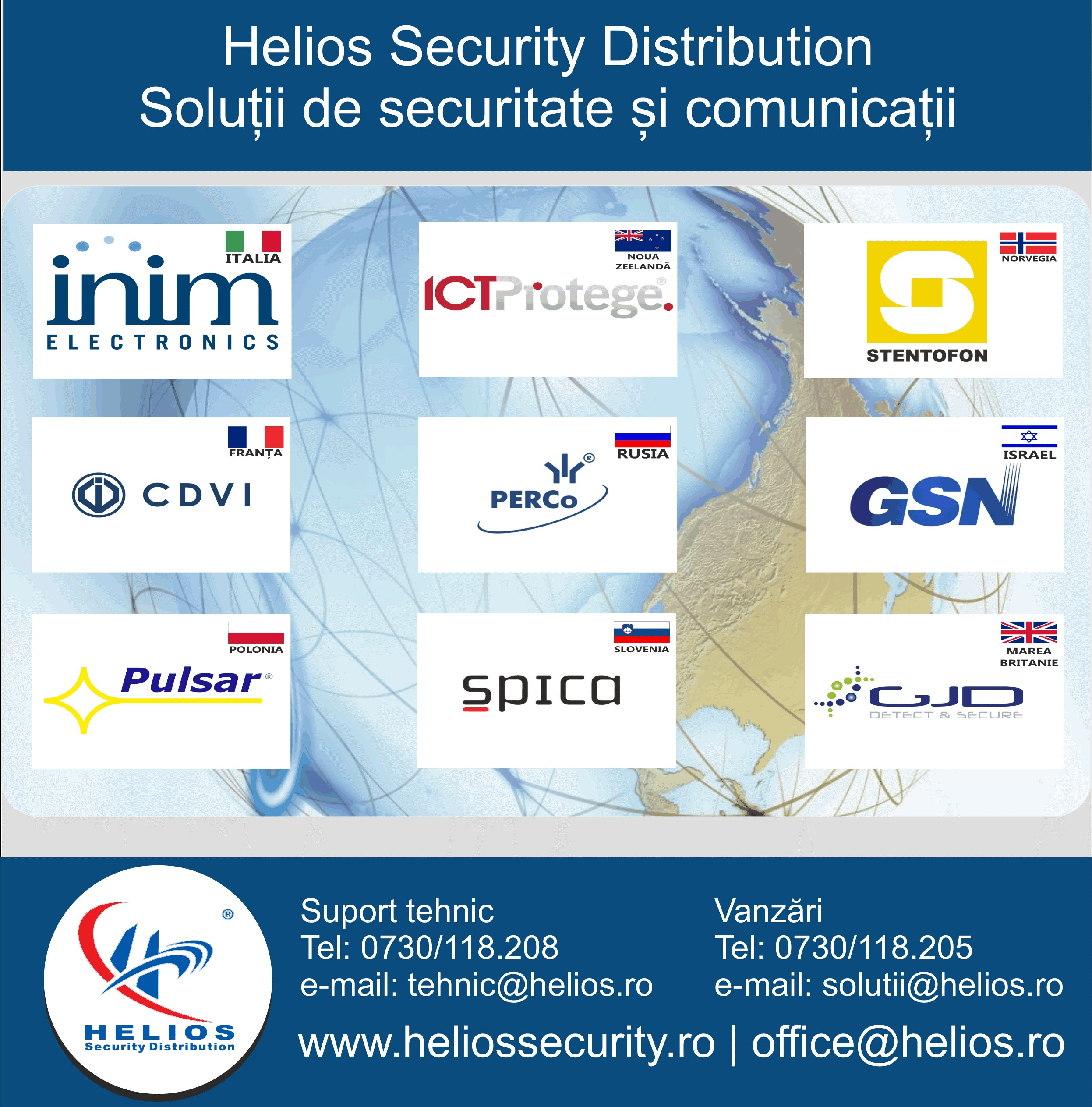 Contact Security: Helios Security